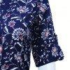 Rayon Printed Tunic & Short Kurtis - Dark Blue