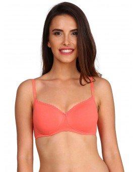 Jockey Padded Wirefree T-Shirt Bra  Blush Pink - Style#1723