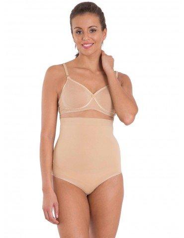 Jockey Beige Iced Frappe Seamless Shaping High Waist Bikini Style#6704