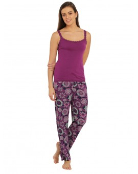 Jockey Lavender Scent Print Woven Long Pant - Style # RX02