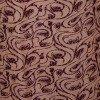 High Quality Alpine Cotton Leaf Print Long Nighty - Tan4 and Burgundy